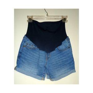 Old Navy Maternity Jean Shorts